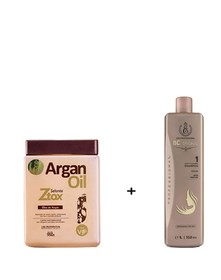 Ботокс Argan Oil 950 мл + ШГО BC Original 1000 мл