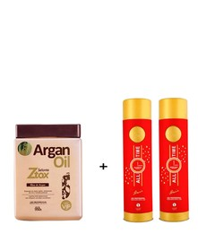 Ботокс Argan Oil 950 мл + набор Zap All Time 1000 мл